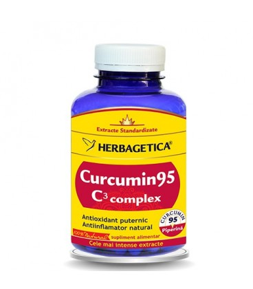 Curcumin 95 C3 complex, 120 capsule