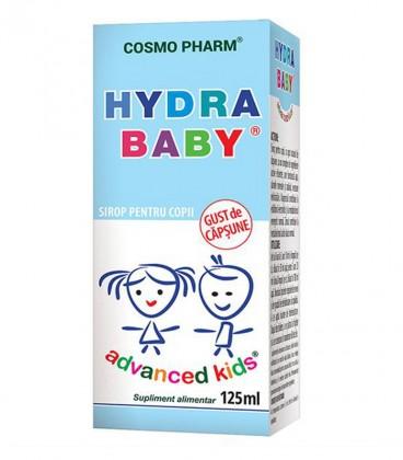 Sirop Hydra Baby cu gust de capsune, 125 ml
