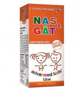 Sirop Nas & Gat cu gust de caramel, 125 ml