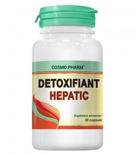 Detoxifiant Hepatic, 30 capsule