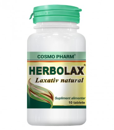 Herbolax, 10 tablete