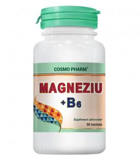 Magneziu + B6, 30 tablet