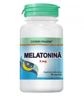 Melatonina 3 mg, 30 capsule