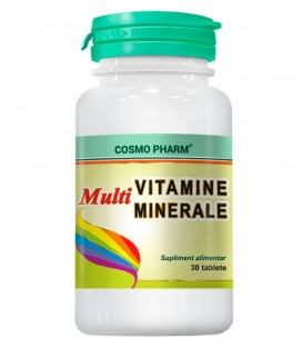 Multivitamine Multiminerale, 30 tablete