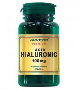 Acid Hialuronic 100 mg, 30 tablete