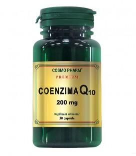 Coenzima Q10 200 mg, 30 capsule