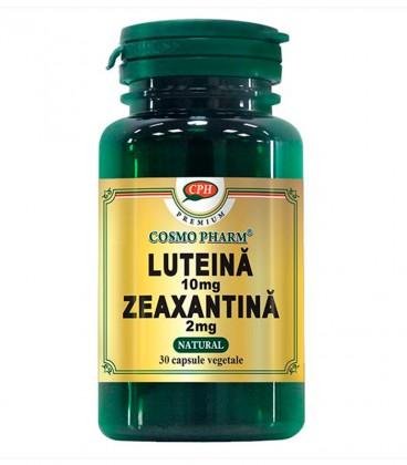 Luteina 10 mg Zeaxantina 2mg, 30 capsule