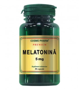 Melatonina 5 mg, 30 capsule