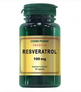 Resveratrol 100 mg, 30 capsule
