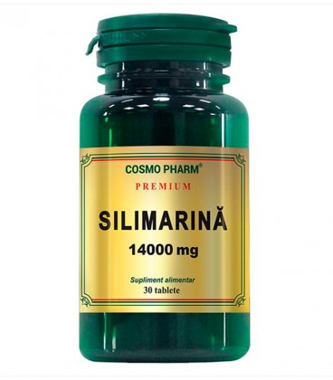 Silimarina 14000 mg, 30 tablete