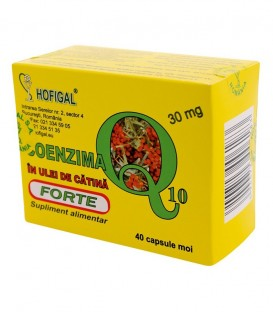 Coenzima Q10 in ulei de catina forte, 40 capsule