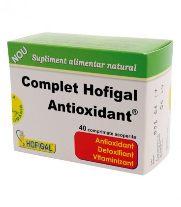 Complet antioxidant, 40 comprimate
