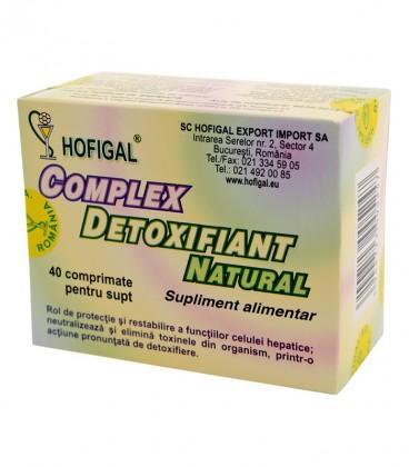 COMPLET DETOXIFIANT NAT 40CPR
