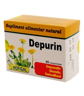 Depurin, 40 comprimate