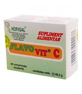 Flavovit C pentru Adulti, 500mg 40 comprimate