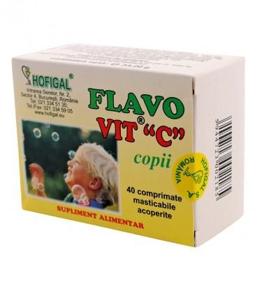 Flavovit C - copii, 40 comprimate