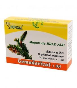 Gemoderivat din muguri de brad alb, 30 monodoze x 1.5 ml