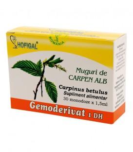 Gemoderivat de carpen alb - muguri, 30 monodoze