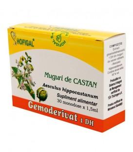 Gemoderivat din muguri de castan, 30 monodoze x 1.5 ml