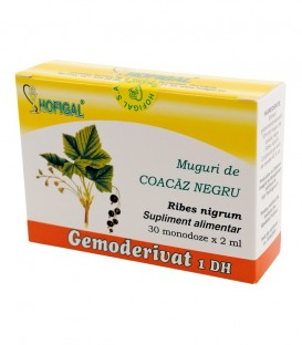 Gemoderivat din muguri de coacaz negru, 30 monodoze x 1.5 ml