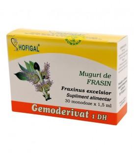 Gemoderivat din muguri de frasin, 30 monodoze x 1.5 ml