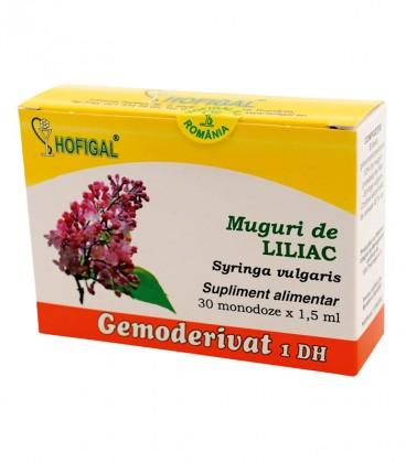 Gemoderivat de Liliac muguri, 30 monodoze