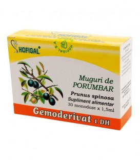Gemoderivat din muguri de porumbar, 30 monodoze x 1.5 ml