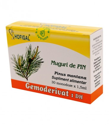 Gemoderivat de pin - muguri, 30 monodoze