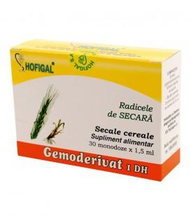 Gemoderivat din radicele de secara, 30 monodoze x 1.5 ml