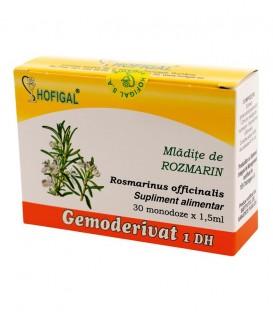 Gemoderivat din mladite de rozmarin, 30 monodoze x 1.5 ml