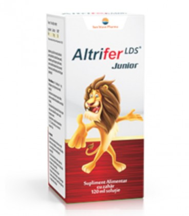 Altrifer LDS Junior Sirop, 120 ml