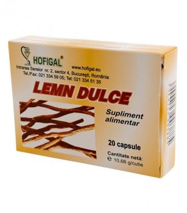 Lemn dulce, 20 capsule