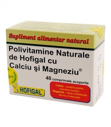 Polivitamine naturale, 40 comprimate