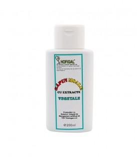 Sapun moale vegetal lichid, 200 ml