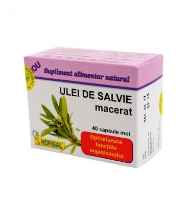 ULEI DE SALVIE MACERAT, 40CPS MOI