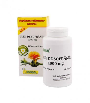 Ulei de Sofranel, 1000 mg-40 capsule moi