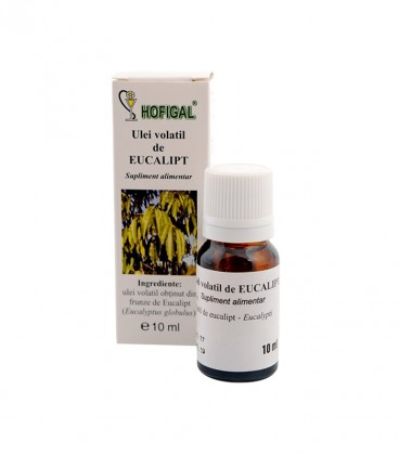 Ulei volatil de eucalipt, 10 ml