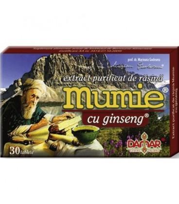 Extract purificat de rasina Mumie cu ginseng 30 TBL