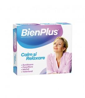 BienPlus Calm si Relaxare, 10 capsule