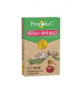 Propolis C Raceala & Gripa,  8 plicuri
