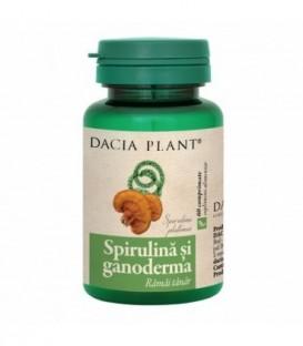 Spirulina si Ganoderma, 60 tablete