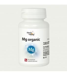 Magneziu organic, 60 tablete