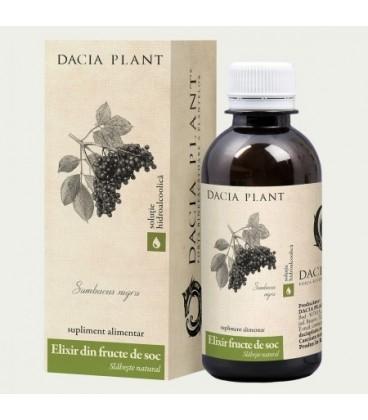 Elixir fructe de soc (tinctura), 200 ml