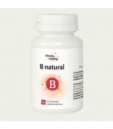 B Natural, 60 tablete