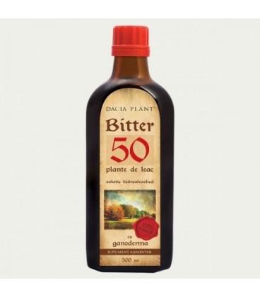 Bitter 50 Plante cu Ganoderma, 500 ml