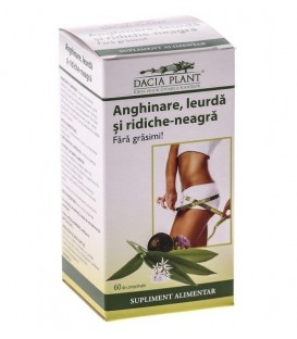 Anghinare, leurda si ridiche neagra, 60 tablete