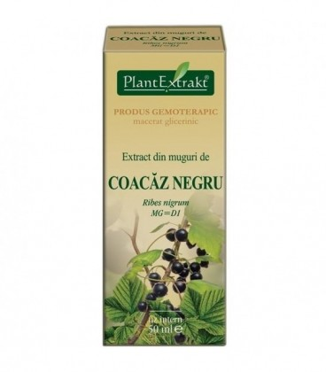 Extract din muguri de coacaz negru, 50ml