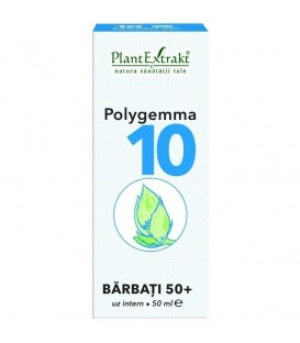 Polygemma 10 - Senior Barbati 50+, 50 ml