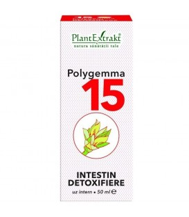 Polygemma 15 - Intestin Detoxifiere, 50 ml