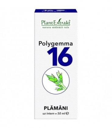 Polygemma 16 - Plamani Detoxifiere, 50 ml